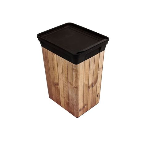 QUTU Q-TRASH BIN 20 L LIGHT WOOD ÇÖP KOVASI