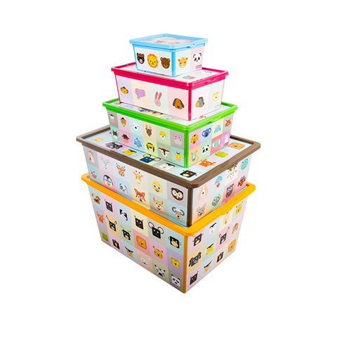 QUTU Trend Box Looking Learning Set - 5 Parça